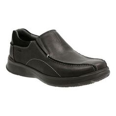 Men's Clarks Cotrell Step Bicycle Toe Shoe Oily Cow Full Grain