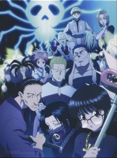 Phantom Troupe - Hunter x Hunter - Mobile Wallpaper - Zerochan Anime Image Board Killua, Hisoka, Hunter X Hunter, Hunter Anime, Manga Anime, Anime Art, Hunter Spider, Academia Online, Samurai
