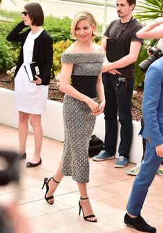 Dressed to Impress at the Cannes Film Festival - Sienna Miller-Wmag
