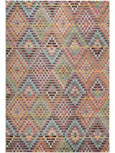 Teppich Casa Multicolor
