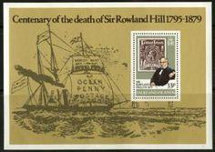 Death Centenary Sir Rowland Hill