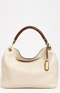 Michael Kors 'Large Skorpios' Leather Shoulder Bag available at #Nordstrom