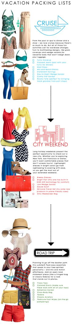 Getaway Guide: What to Pack for Summer Vacation   Dillard's