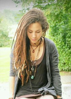 Dreads... I am actually considering doing this in a year after I have grown my hair out...