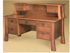Amish Computer Desk | Witmer Executive Computer Desk