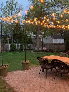 DIY Potted String Light Stand - With this DIY stand, you can . - DIY Potted String Light Stand – With this DIY stand you can make fairy lights …, # DI - Backyard String Lights, Backyard Lighting, Outdoor Lighting, Outdoor Decor, Lighting Ideas, Outside Hanging Lights, Hanging Patio Lights, Solar Patio Lights, Outdoor Ideas