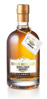Swiss Highland Single Malt Whisky CLASSIC