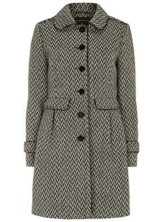 Grey tweed fit and flare coat - Coats & Jackets  - Clothing