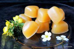 Kaksi hyvää, helppoa ja terveellistä herkkua yhdellä iskulla! Sitruunalla ja inkiväärillä maustettu, tuorepuristettu omenamehu maistuu sellaisenaankin, mutta omenamarmeladimakeiset maistuvat vieläk…