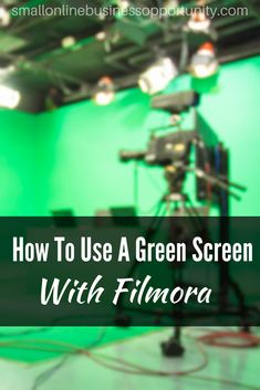 How To Use A Green Screen With Filmora Are you interested in video editing? Here's how to use a green screen using Filmora, it is seriously easy and can make such an impact on your videos! Online Marketing, Digital Marketing, Green Screen Photography, Diy Screen Printing, New Green, Picture On Wood, Video Editing, Being Used, Make Money Online