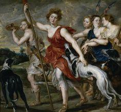 Diana cazadora - Colección - Museo Nacional del Prado