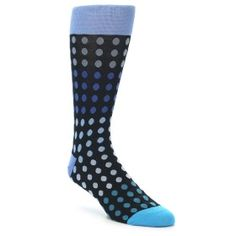 21973-Black-Blues-Polka-Dot-Men's-Dress-Sock-Vannucci01