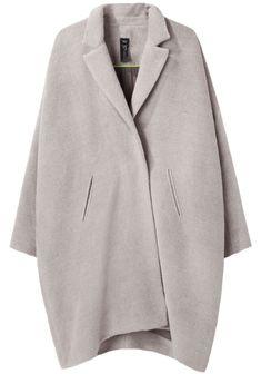 Oversize coats. Zero + Maria Cornejo, Lab Coat, from La Garçonne.