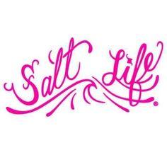 Salt Life Signature OG Decal (Pink;Small ( 6)