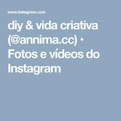 diy & vida criativa (@annima.cc) • Fotos e vídeos do Instagram Videos, Diy, Instagram, Study, Bricolage, Do It Yourself, Homemade, Diys, Crafting