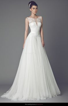 Wedding dress Tony Ward Couture Bleuetta 2015 - AllWeddingDresses.co.uk