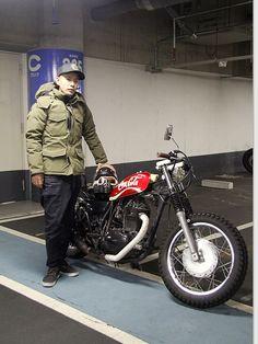 カワサキ 250TR ストリートスナップ 阿部 隆太郎さん【STREET-RIDE】ストリートバイク ウェブマガジン