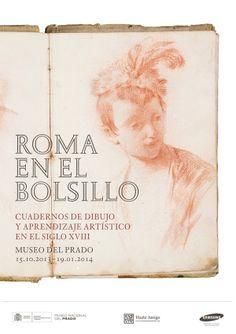 Roma en el bolsillo Museo del Prado 2012 exhibition poster