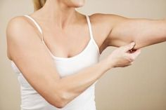 Losing sagging underarm skin is easy, as long as you have a few key exercises.