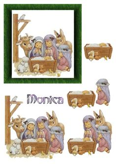 3D MONICA - Nativity 3D topper
