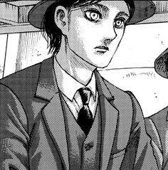 Armin, Aot Eren, Eren And Mikasa, Attack On Titan Eren, Manga Art, Anime Manga, Anime Guys, Aot Characters, Eremika