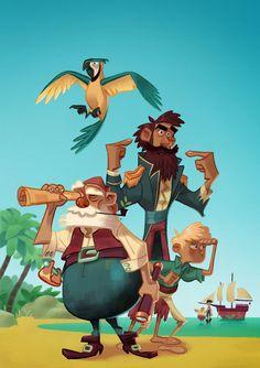 Pirates! by WouterBruneel.deviantart.com on @deviantART
