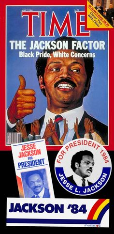 On November 3, 1983, Jesse Jackson announced his campaign for President of the United States in the 1984 election, becoming the second African American (after Shirley Chisholm in 1972) to mount a nationwide campaign for president.