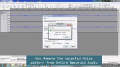 Remove Background Noise (Hum) from recorded audio with normal mic by using free software Audacity and get nearly studio quality record.