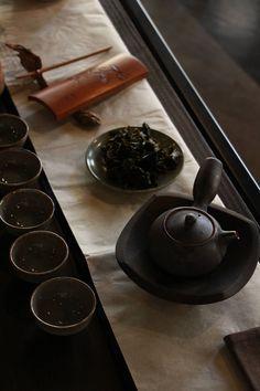 oriental tea time