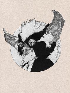 GREMLINS 2: The New Batch by  Dani Blázquez on Behance   Illustration   Drawing   Draw   Sketch   Paper   Design   Ilustração   Desenho  