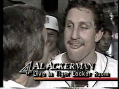 WDIV Detroit: October 14, 1984: Tigers Win the World Series - Lance Parrish