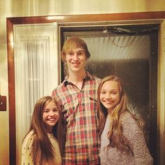 Maddie, Kenzie, and their brother