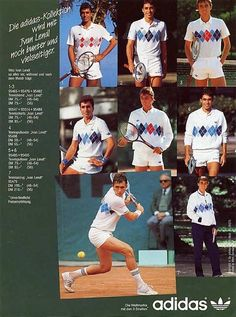 Adidas Ivan Lendl tanktop, 1986 87 80s