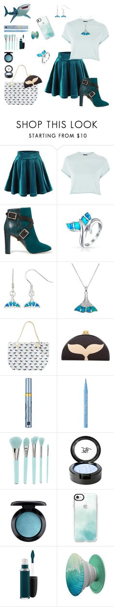 """Untitled #39"" by disneyalert ❤ liked on Polyvore featuring Disney Pixar Finding Dory, Topshop, Jimmy Choo, Bling Jewelry, La Preciosa, Edie Parker, Estée Lauder, Too Faced Cosmetics, Forever 21 and Beauty Is Life"