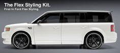 Ford Flex Custom Accessories   All kit components are manufactured in flexible high pressure injected ...
