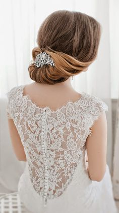 Updos and lace...always magic