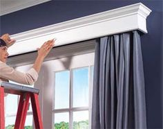 How to Build Window Cornices #design #accents