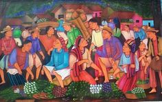 Art Maya Tzutujil, Santiago Atitlán night market | Guatemala _____________________________          VisitGuatemala.com  stony-hill-madison.com VisitCentroAmerica.com