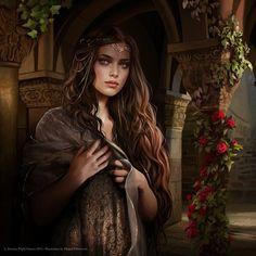 f npc Noble Castle garden beautiful girl, fantasy, book inspiration Fantasy Girl, Fantasy Magic, Chica Fantasy, Fantasy Women, Fantasy Princess, Princess Anna, Character Portraits, Character Art, Character Ideas