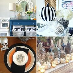 Now THIS is how you decorate for the holidays on a budget! | How Girls on a Budget Are Styling Their Homes For Fall