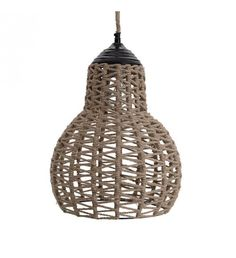 ΦΩΤΙΣΤΙΚΟ ΟΡΟΦΗΣ JUTE NATURAL 33Χ33Χ45_150 Wall Lights, Ceiling Lights, Lighting System, Ceiling Lamp, Pendant Lighting, Home Decor, Collection, Appliques, Decoration Home