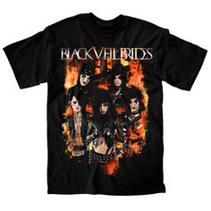Black Veil Brides Blaze Men's T-shirt $14.95