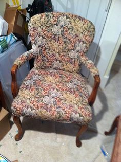 Vintage chair to recover
