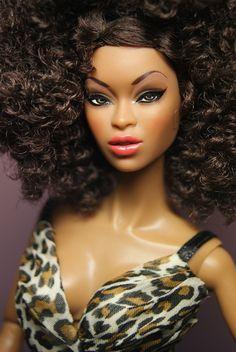 Fashion black doll