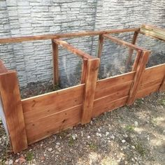 The Best Triple Compost Bin : 5 Steps (with Pictures) - Instructables Build Compost Bin, Homemade Compost Bin, Wooden Compost Bin, Best Compost Bin, How To Make Compost, Garden Compost, Pallet Compost Bins, Vegetable Planters, Vegetable Garden