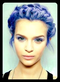 Wish I could pull off lilac!