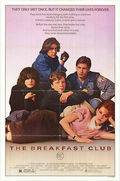 Breakfast Club movie posters at movie poster warehouse movieposter.com