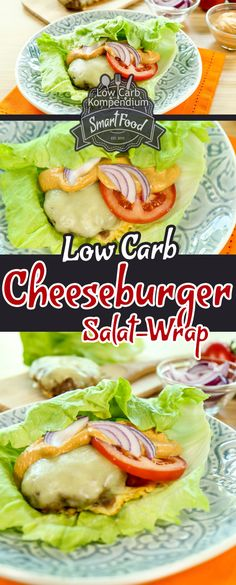 Cheeseburger Salad Wrap - The cheeseburger without rolls - Low-carb cheeseburger salad wrap. Are you looking for a quick & easy low-carb cheeseburger recipe? Dieta Paleo, Paleo Diet, Paleo Soup, Keto, Paleo Recipes, Low Carb Recipes, Quick Recipes, Cheese Burger, Salad Wraps