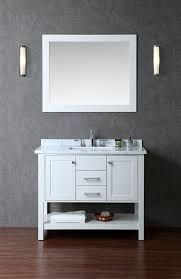 """If you were wondering which is the standard height of a regular bathroom vanity cabinet, that would be 32"""", although the range can be anywhere from 30"""" to 36"""" or so. Nowadays, the modern units are taller, and they are named comfort height vanities. Another thing to note here is that vanities can end up coming with a multitude of height options."""