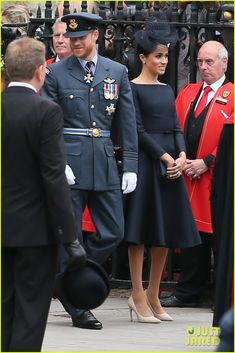 Kate Middleton & Meghan Markle Join Prince William & Prince Harry at Royal Air Force Birthday Service